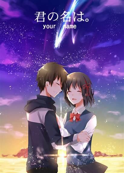 Wa Kimi Anime Mitsuha Comic Miyamizu Wallhaven