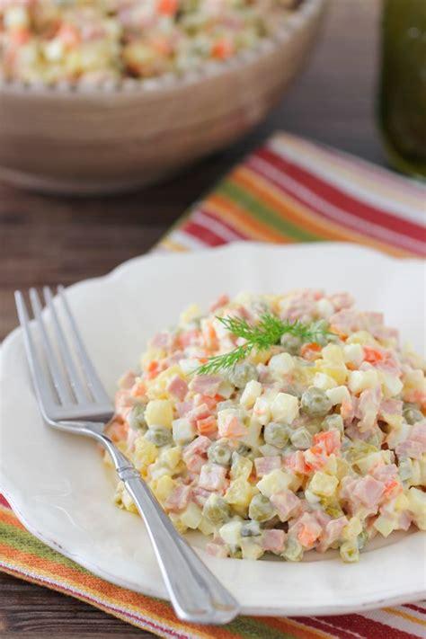olivier cuisine best 20 olivier salad ideas on salad