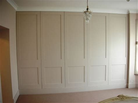 Wardrobe Cabinets With Doors by Fitted Wardrobes Cabinets In A Hallway For All Our