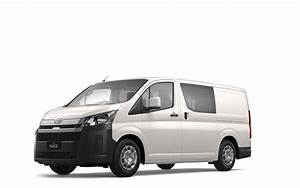 Compare Best Prices On The Toyota Hiace Lwb  4 Door Option