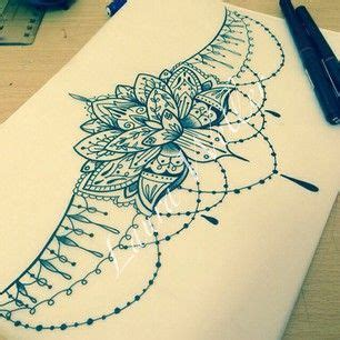 lotus mandala underboob tattoo google search