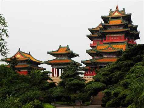 Yue-jiang Tower,one Of China's Famous Cultural Building