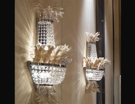 nella vetrina visionnaire murano bird luxury wall light