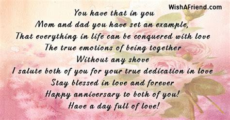 anniversary poems  parents