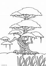 Coloring Pages Tree Printable Printables Trees Cool2bkids Template Flower Plants Green Templates Leaves Children Duathlongijon sketch template