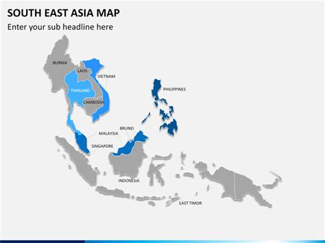powerpoint south east asia map sketchbubble