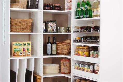 Custom Pantry Organizer Systems with Pantry Shelving and