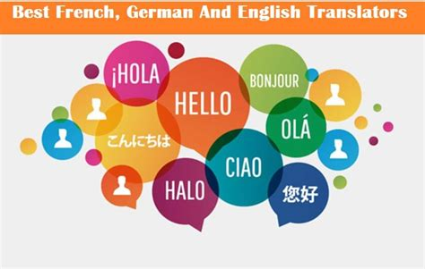 Best Translators by Best To To German To