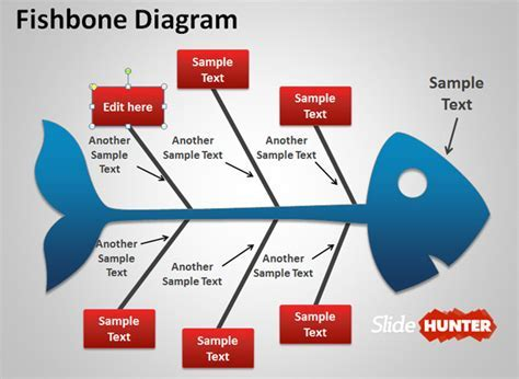 Fishbone Ppt Template Free by Fishbone Cause And Effect Diagram For Powerpoint