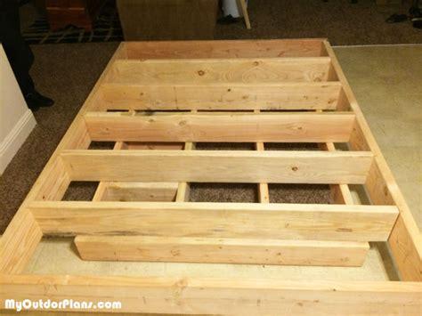 diy floating bed myoutdoorplans  woodworking plans