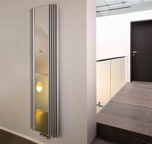 Heizkörper Für Badezimmer : design heizk rper mit spiegelfront f r garderobe badezimmer ~ Lizthompson.info Haus und Dekorationen