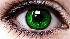 Change your Eye Color to GREEN in 10 SECONDS - Hypnosis ...  Green