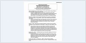 Annotated Bibliography Example Guide In Three Most Popular Styles