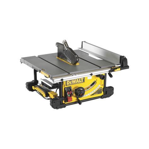 heavy duty table saw dewalt 254mm heavy duty portable table saw bunnings
