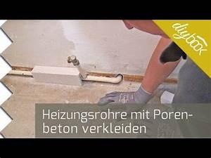 Heizkörper Rohre Verkleiden : verkleidung f r heizungsrohre mit porenbetonsteinen herstellen haus heizungsrohre heizung ~ Yasmunasinghe.com Haus und Dekorationen