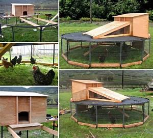 Ideas For Homemade Chicken Coops Chicken Coop Ideas
