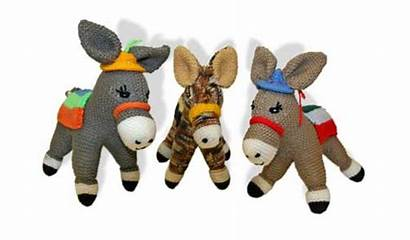 Donkeys Knitting Distress Celebrate National Week Help
