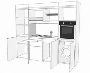 Frigo Compact : cucina compatta compact art 247 con ante a libro vivilospazio mobili trasformabili ~ Gottalentnigeria.com Avis de Voitures