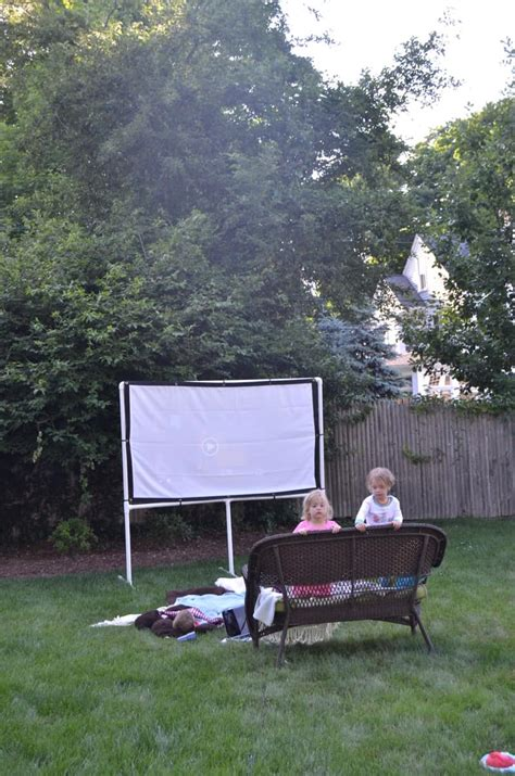diy backyard  screen  charlottes house