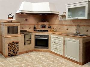 Stunning come realizzare una cucina in finta muratura for Come costruire una cucina in finta muratura