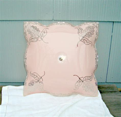 vintage ceiling light shade shabby chic by