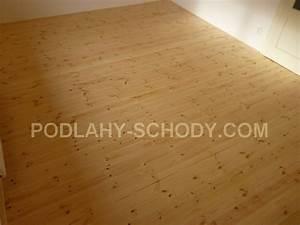 Podlahové palubky borovice