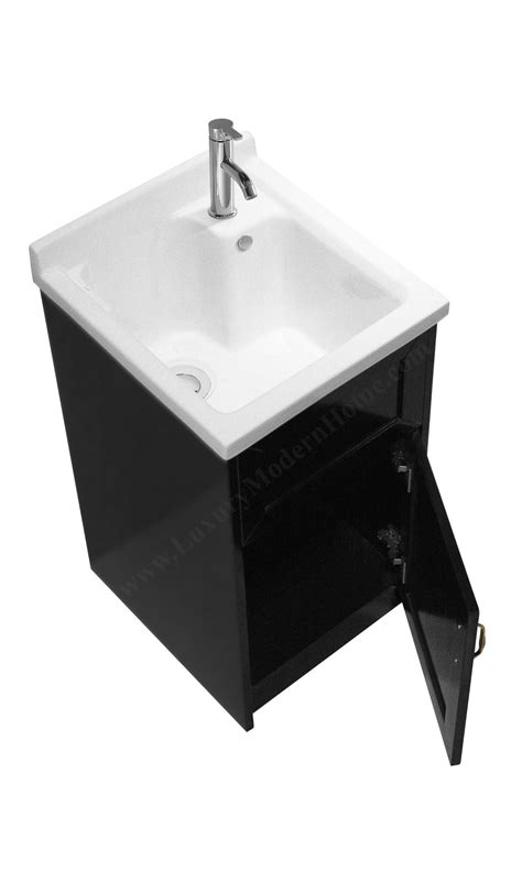 18 wide utility sink ls modern 18 quot inch small espresso laundry utility sink