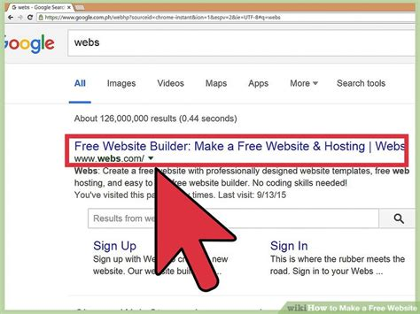 How To Make A Free Website 14 Steps (with Pictures) Wikihow