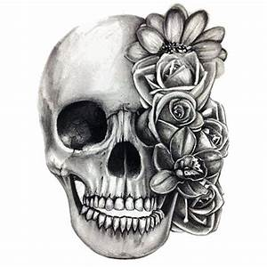 Dessin Tete De Mort Avec Rose : dessin de t te de mort facile coloriage t te de mort mexicaine 20 et tete de mort dessin avec ~ Melissatoandfro.com Idées de Décoration