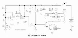 555 Ignition Coil Driver Circuit