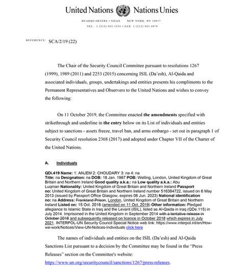 Par tehnisku labojumu ANO sankciju sarakstos