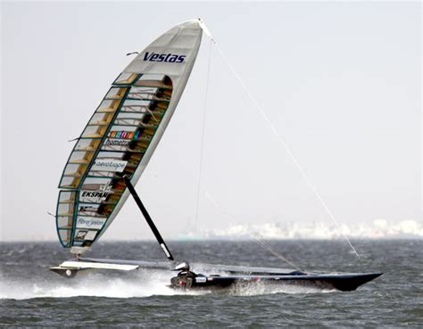 Fastest Boat In Knots by 47 4 Knots For Vestas Sailrocket