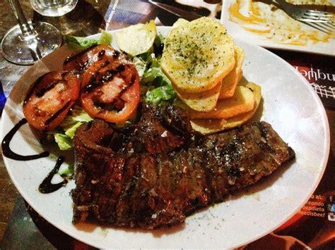 argentinian food argentinian food in cordoba spain la tranquera restaurante