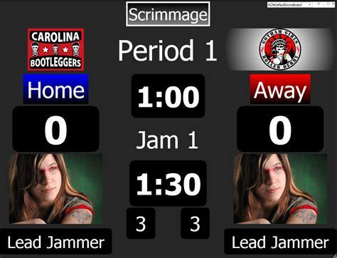 free roller derby scoreboard by roller derby nation