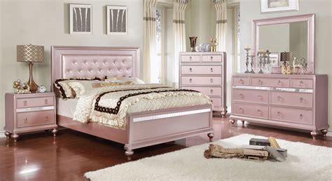 Ariston Rose Gold Bedroom Set Urban Furniture Outlet