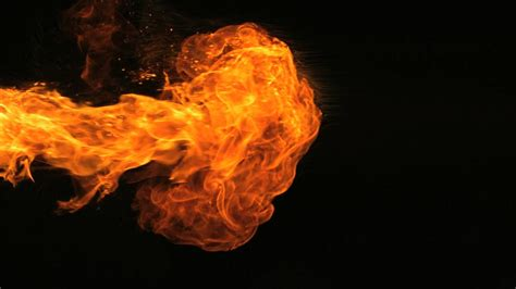 slow motion fire hd  flames camera video footage
