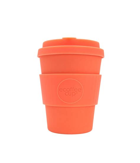 Coffee cups are a staple in most households, but there are so many different options on the market. Ecoffee 12 oz. Reusable Coffee Cup / AnnMashburn.com
