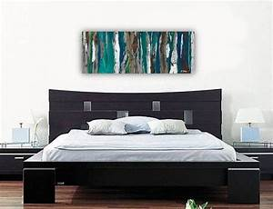 Extra large wall art very large artwork huge blue long for Kitchen colors with white cabinets with extra large wall art artwork paintings