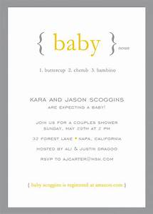 Gender Neutral Shower Invitations & Party Invitations for ...