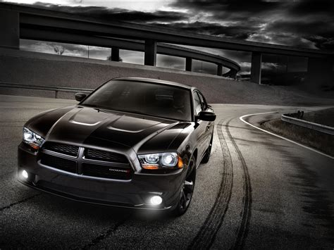 dodge charger blacktop front angle
