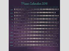 Maankalender 2016 template Vector Gratis Download