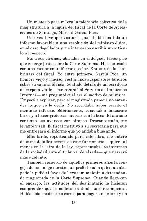 El Libro Negro De La Justicia Chilena Pdf Libro Gratis