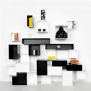 Trendy ideas interior design – Modular shelving for the