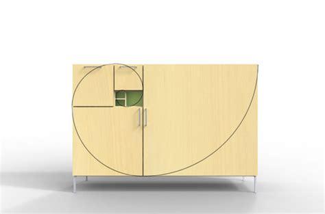 fibonacci furniture fibonacci cabinet by daniel rudolph