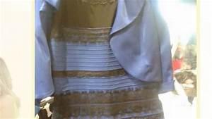 de quelle couleur est la robe pourquoi notre hysterie n With la robe qui change de couleur