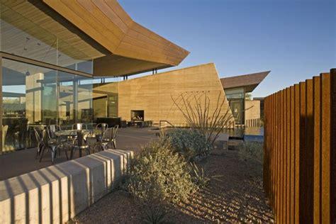 splendid rammed earth house  arizona