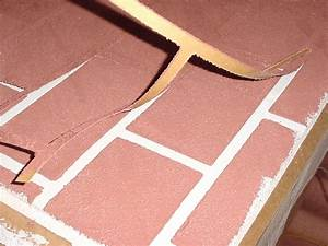 Color Chart Brick Stencil Finishes Master Wall