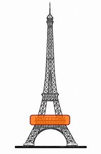 Pics For > Eiffel Tower Drawing Png