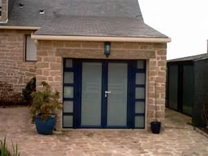 Porte De Garage 3 Vantaux : porte de garage boreal ouvertures le hezo vannes 56 ~ Dode.kayakingforconservation.com Idées de Décoration