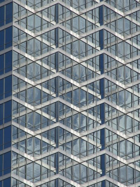 office building glass facade  stock photo public